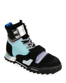 Off-White Men's Arrow Colorblock Hiking Sneaker Bo