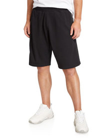 Givenchy Men's Cotton Sweat Shorts with Logo Tape