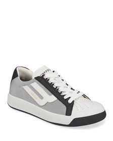 Bally Men's New Competition Mesh & Leather Sneaker