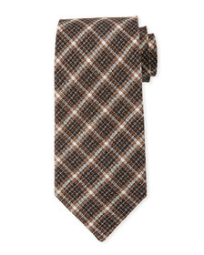 TOM FORD Large Square Silk-Blend Tie