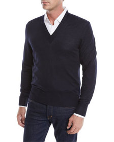 TOM FORD Cashmere Classic V-Neck Sweater