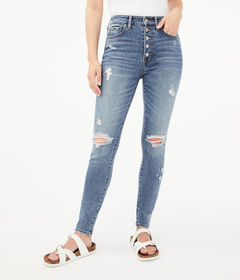 Aeropostale Seriously Stretchy Super High-Rise But