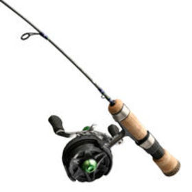 13 Fishing Snitch Descent Inline Ice Combo with Qu