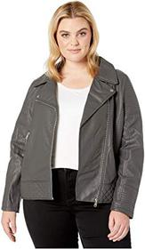 YMI Snobbish Plus Size Faux Leather Jersey Lined M