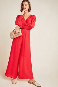 Anthropologie Stacey Wide-Leg Jumpsuit