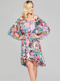 Keera Floral Printed Dress