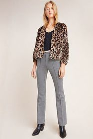 Anthropologie Essential Houndstooth Bootcut Trouse