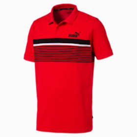 Puma ESS+ Striped Men's Polo