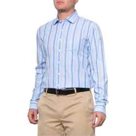 Bobby Jones Luxe Stokes Multi-Stripe Shirt - Long