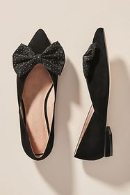Anthropologie Bow City Flats