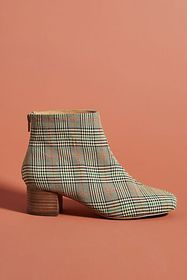 Anthropologie Liendo by Seychelles Plaid Ankle Boo
