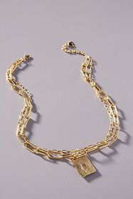Anthropologie Sybil Layered Necklace