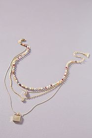 Anthropologie Linnet Layered Necklace