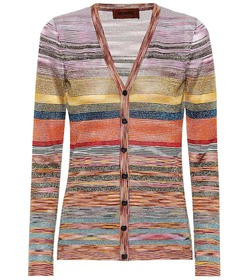 Missoni Knitted wool-blend cardigan