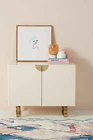 Anthropologie Lacquered Glinda Sideboard