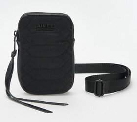 """As Is"" Aimee Kestenberg Nylon Stadium Crossbody B"