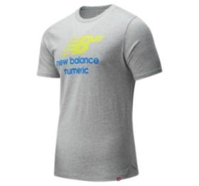 New balance Men's NB Numeric Logo Stacked Tee