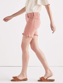 Lucky Brand Ava Mid Rise Jean Short In Washed Rose