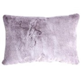 WENDY BELLISSIMO Super Soft Faux Fur Throw Pillow