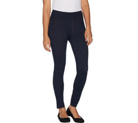 Spanx Jean-Look Ankle Length Leggings - A293566