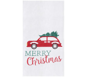 Holiday Car Towels Set of 2 by Valerie - H325110