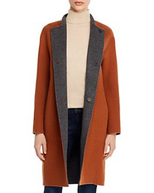 Theory - Alma Reversible Wool Coat