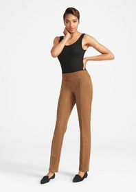 Tall Stretch Suede Skinny Pants