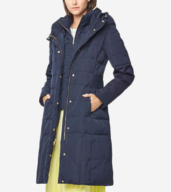 Cole Haan Signature 40-inch Taffeta Down Coat