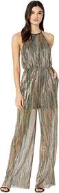BCBGeneration Tie Back Elasticated Knit Jumpsuit T