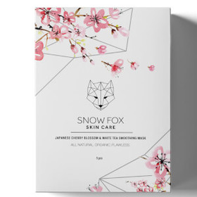 Snow Fox Japanese Cherry Blossom and White Tea Smo