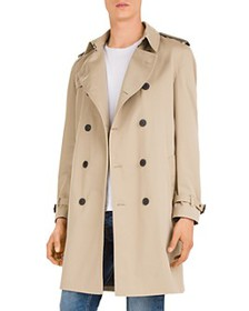 The Kooples - Lemal Belted Double-Breasted Coat