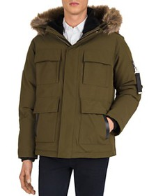 The Kooples - Mix Poly Puffy Parka