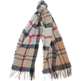 Barbour Tartan Boucle Scarf - Women's