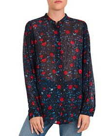 The Kooples - Poison Roses Floral-Print Shirt