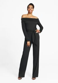 Tall Eva Off The Shoulder Jumpsuit
