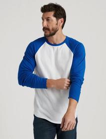 Lucky Brand Raglan Crew Double Knit