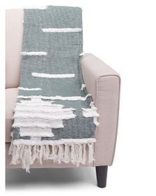 ASPEN Titan Texture Throw With Fringe