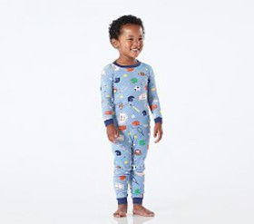 Pottery Barn Sports Tight Fit Pajamas