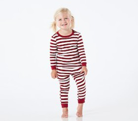 Pottery Barn Classic Stripe Tight Fit Pajamas