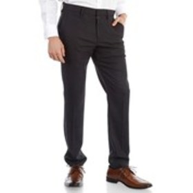 Mens Very Slim Fit Plaid Dress Pants