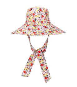 Ganni Exclusive to Mytheresa – floral wide-brim ha