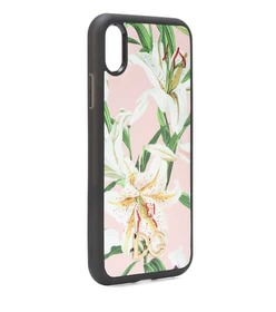 Dolce & Gabbana Floral leather iPhone XR case
