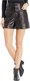 7 For All Mankind Button Front Shorts