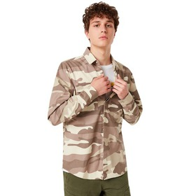 Oakley Icon Cargo Shirt - Gray Camou