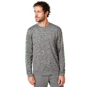 Oakley 3 Rd-G O Fit Long Sleeve Tee 2.7 - Dark Gra