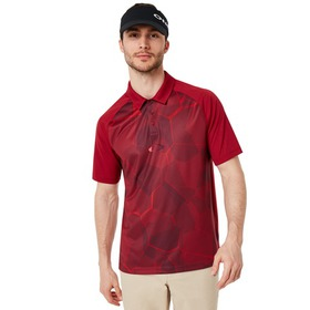 Oakley Mirror Graphic Polo - Raspberry