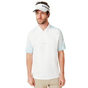 Oakley Graphic Logo Sleeves Polo - White