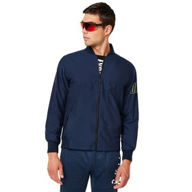 Oakley Enhance Wind Warm Mil Jacket - Foggy Blue
