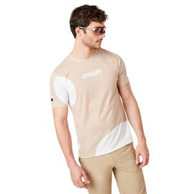 Oakley Staple Tee - Staple Bubble Sand White