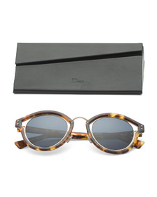 DIOR Made In Japan 48mm Round Designer Sunglasses